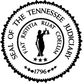Seal of the tennessee judiciary